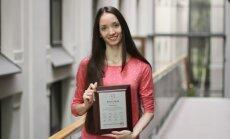 Jūlija Brauere Korejas Starptautiskajā baleta konkursā izcīna bronzas medaļu