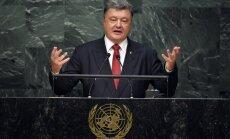Порошенко в ООН обвинил Россию в злоупотреблении правом вето