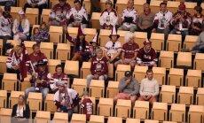 Latvijas hokeja izlases spēles otrās mazāk apmeklētās pasaules čempionātā