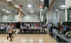 Video: Kā Pasečņiks un Kurucs atrādījās NBA klubu pārstāvjiem