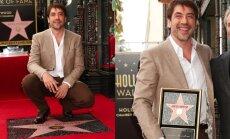 Havjers Bardems ticis pie savas zvaigznes Holivudas slavas alejā