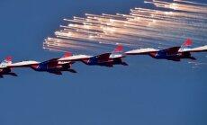 Foto: Krievija nodod Serbijai sešus iznīcinātājus 'Mig'