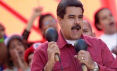 Maduro pasludināts par Venecuēlas prezidenta vēlēšanu uzvarētāju