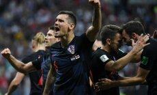 Horvātijas izlases aizsargs Lovrens: esmu viens no labākajiem aizsargiem pasaulē