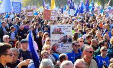 Марш в Лондоне за новый референдум по Brexit собрал более 500 тысяч человек