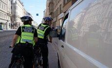 ФОТО: Осторожно! На улицы Риги выехали велопатрули муниципальной полиции