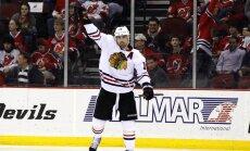 Čikāgas 'Blackhawks' ar uzvaru iesāk NHL Rietumu konferences finālu