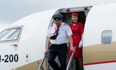 Foto: Aviokompānija 'RusLine' sāk lidojumus no Rīgas uz Maskavu