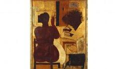 100 dārgumu mākslas muzejā: Borisa Bērziņa 'Mākslinieks un modelis'