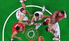 Riodežaneiro vasaras olimpisko spēļu vīriešu basketbola turnīra ceturtdaļfinālu rezultāti (17.08.2016.)