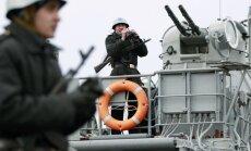 Melnajā jūrā sākas Ukrainas – ASV karaflotes mācības