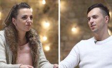 Video: 'Supernovas' dalībnieks Kreilis ar sievu sarīko publisku scēnu