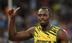 Bolts un Jamaika triumfē arī pasaules čempionāta 4x100 metru stafetē