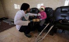 Mobila klīnika Sīrijā, kas 4 gadu laikā radījusi 5000 roku un kāju