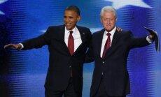 Bijušie ASV prezidenti apvienojas palīdzības vākšanai viesuļvētru upuriem