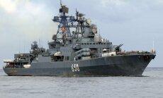 Krievija Tartusas ostā Sīrijā veic kuģu ceļa padziļināšanas darbus