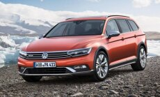 Jaunais 'VW Passat' universālis 'Alltrack' modifikācijā