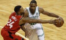 Bostonas 'Celtics' bez sava līdera turpina uzvaru sēriju