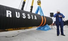 'Nord Stream 2': EK prasa Vācijai papildus informāciju; bažas par Krievijas ietekmi