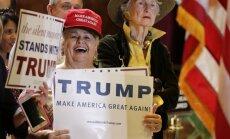 Meli pirmsvēlēšanu debatēs: Patiesais ASV bezdarba rādītājs ir 42%, uzskata Tramps