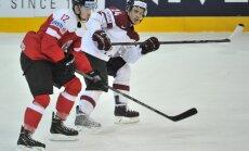 Latvijas hokeja izlasei olimpisko spēļu kvalifikācijas turnīrā būs jāsacenšas ar Austriju un Vāciju