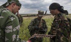 Ukrainā darbojas 20 000 kaujinieku; puse karotāju ir no Krievijas, paziņo Parubijs