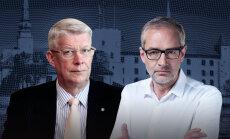 'Delfi TV ar Jāni Domburu' – pulksten 15 atbildēs Valdis Zatlers