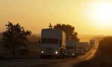 Krievija sagatavojusi septīto 'humānās palīdzības' konvoju nosūtīšanai uz Donbasu