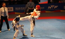 Taekvondo cīkstone Inese Tarvida apstājas 'Grand Prix' posma ceturtdaļfinālā