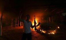 ASV slepenā reidā Lībijā aiztur uzbrukumā konsulātam Bengāzī aizdomās turētu kaujinieku līderi