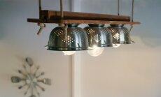 Virtuves caurduri un foto negatīvi: ideju vācelīte pašgatavotām lampām