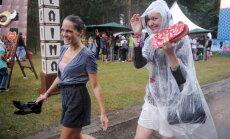 Nedēļas nogalē Salacgrīvā gaidāms īslaicīgs lietus un brāzmains vējš, kas pierims