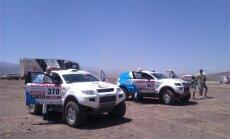 Saukāns/Dambis saņem laika sodu un turpina Dakaras ralliju