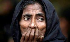 Rohindžu brutālās izspiešanas dēļ ASV ierobežo atbalstu Mjanmas armijai