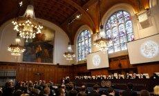 Hāgā uzsāk tiesāt Krieviju par noziegumiem Ukrainā