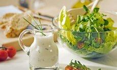 Druska ievārījuma un citi knifi perfekti vasarīgai salātu mērcei