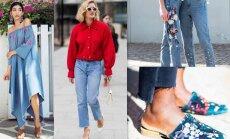 10 veidi, kā šosezon džinsu aktuāli ģērbt ne tikai klasiskajā variantā