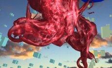 Virs Liepājas pludmales izslējusies Ginta Gabrāna radīta augstākā skulptūra pasaulē