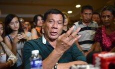 Президент Филиппин: настало время попрощаться с США