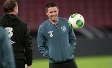Latvijas futbolistu pretiniece Īrija nosauc spēcīgu kandidātu sarakstu