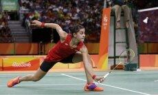 Spāniete Marina kļūst par pirmo Eiropas olimpisko čempioni badmintonā sieviešu vienspēlē
