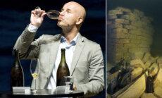 Baltijas jūras dibenā atrastais pasaulē vecākais šampanietis atzīts par nedzeramu