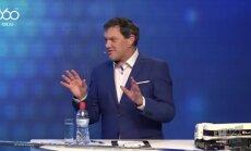 Video: Puče kritizē Vējoņa uznācienu 'Knicks' organizētajā spēlē par godu Latvijas simtgadei