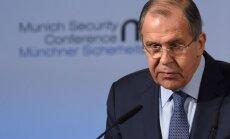 Jāizbeidz Rietumu dominētā pasaules kārtība, aicina Lavrovs