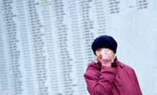 Foto: Lestenē leģionārus piemin ap 1000 cilvēku
