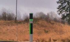 Dīvains stabs uz Daugavpils šosejas mulsina autovadītājus
