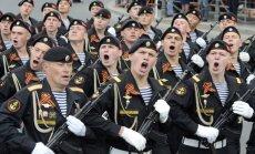 Krievijā ar vērienu svin Uzvaras dienu. Video tiešraide