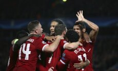 Vārtu birums Anglijā: 'Liverpool' sper soli pretī Čempionu līgas finālam