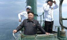 Ziemeļkoreja komēdiju, kurā inscenēta Kima Čenuna slepkavība, sauc par 'kara pieteikumu'