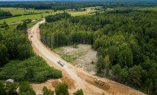 Foto: Latvijas garākais reģionālais ceļš būs asfaltēts pilnā garumā